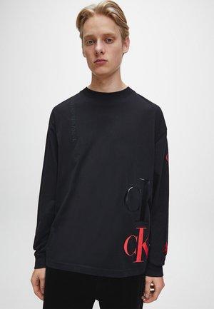 Maglietta a manica lunga - ck black
