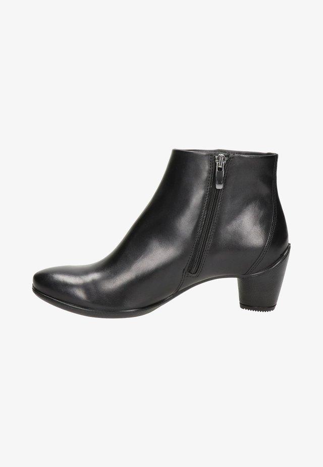 SCULPTURED - Korte laarzen - zwart