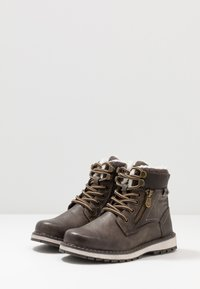 TOM TAILOR - Lace-up ankle boots - pepper - 3