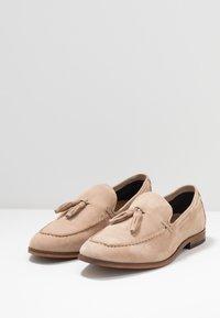 Pier One - Nazouvací boty - beige - 2