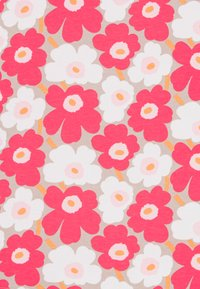 Marimekko - TELTTA UNIKKO - Jersey dress - beige/pink/white - 2