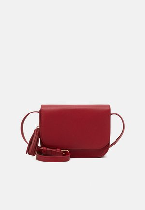 Borsa a tracolla - dark red