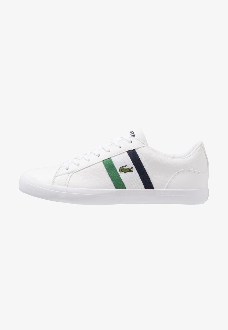 Lacoste - LEROND - Trainers - white/navy