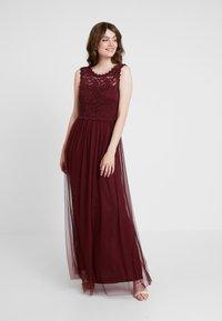 Vila - VILYNNEA MAXI DRESS - Suknia balowa - tawny port - 2