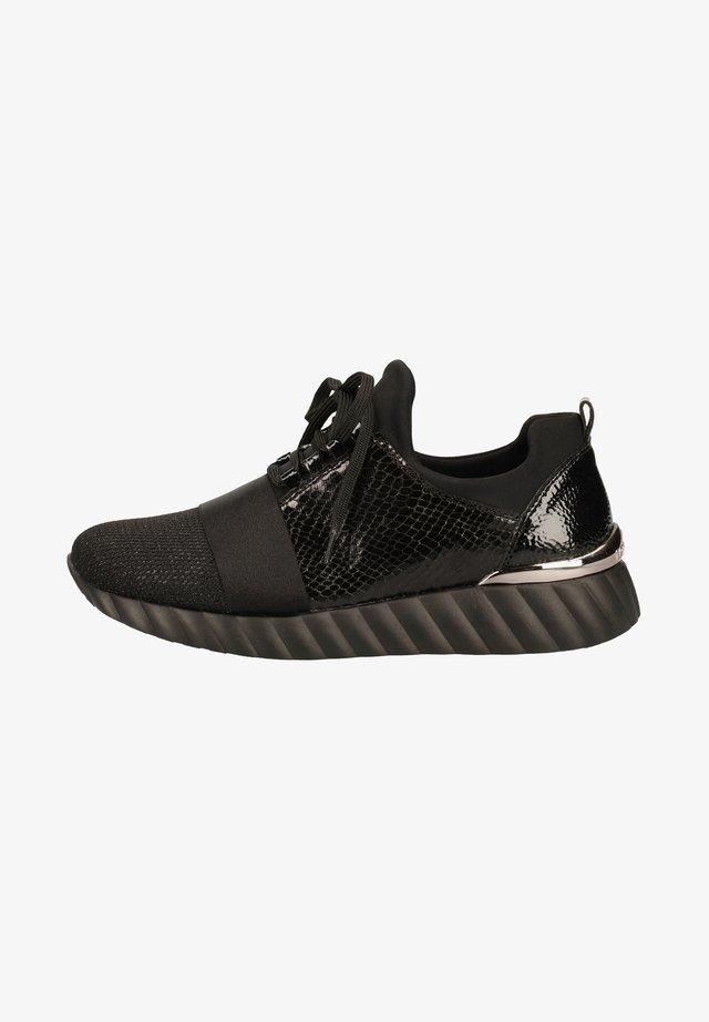 Sneakersy niskie - schwarz/schwarz/schwarz/schwarz/black