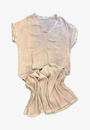 Vestido informal - beige nica