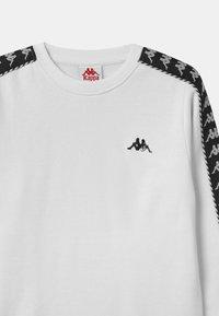 Kappa - ILDAN UNISEX - Sweatshirt - bright white - 2