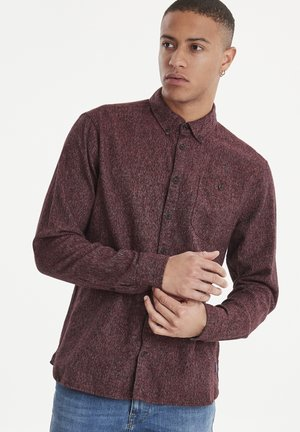 SHIRT REGULAR FIT - Shirt - mottled dark red