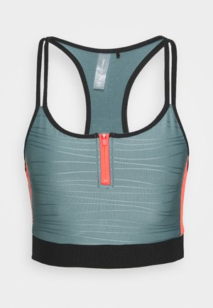 ONPALANI SPORTS BRA - Topper - goblin blue/black/fiery coral