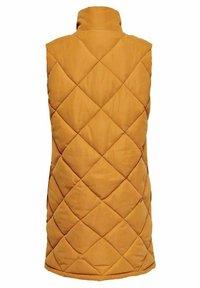 ONLY - ONLLEAH WAISTCOAT - Waistcoat - golden oak - 7