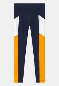 Nike Performance - TROPHY - Leggings - obsidian/university gold/white - 1