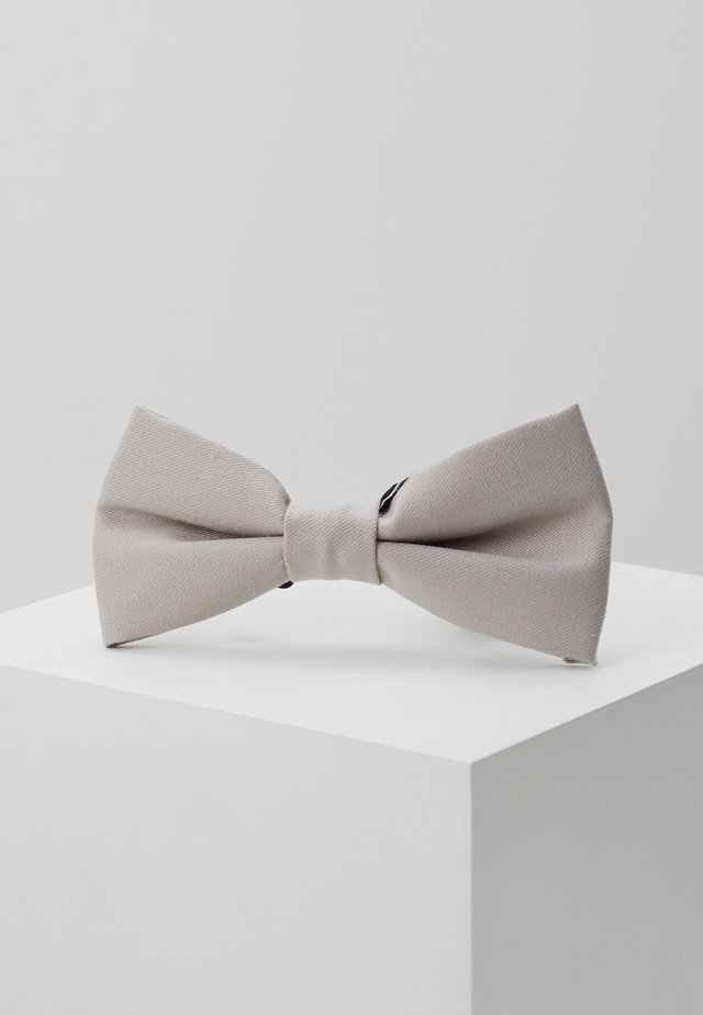 GOTH BOW - Vlinderdas - light grey