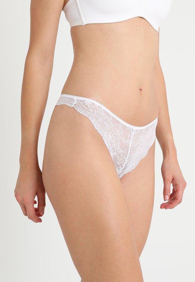 RACHEL BRAZILIAN HIPSTER - String - white
