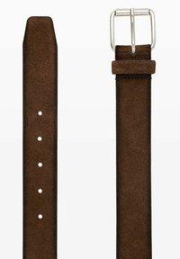 BRAX - HERRENGÜRTEL - Belt - dark brown - 2