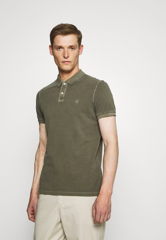 SHORT SLEEVE BUTTON PLACKET - Polo - sea turtle
