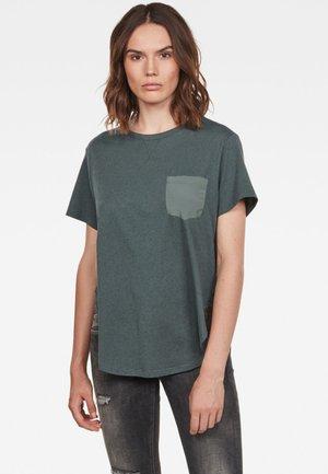 MYSID - T-shirt - bas - balsam/dark black