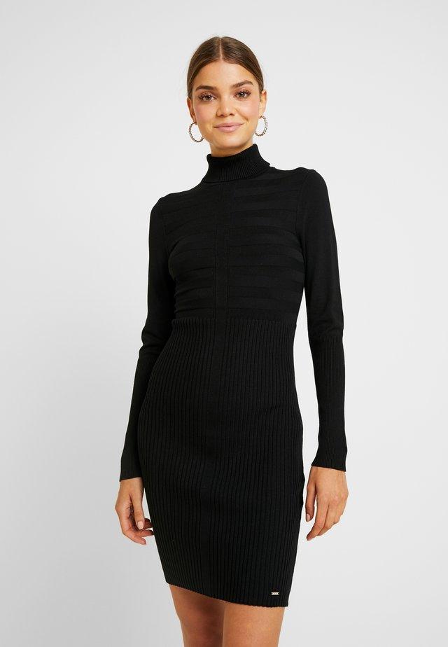 RMENTO - Strikket kjole - noir