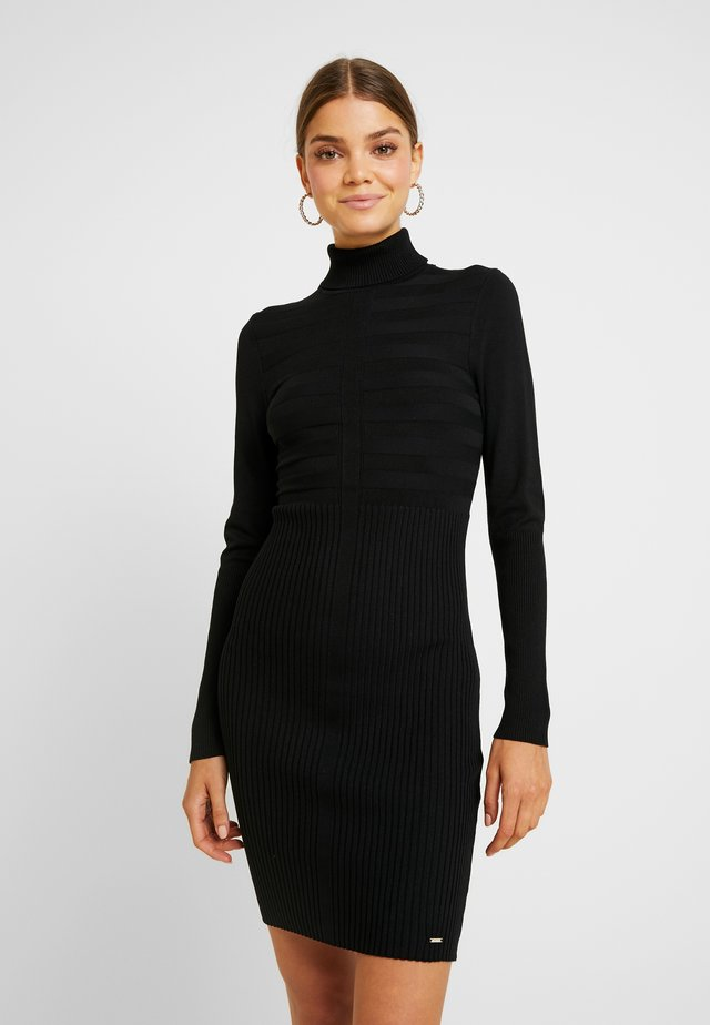 RMENTO - Vestido de punto - noir