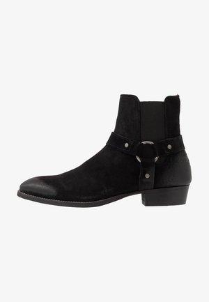 BIABEACK WESTERN - Cowboy/biker ankle boot - black