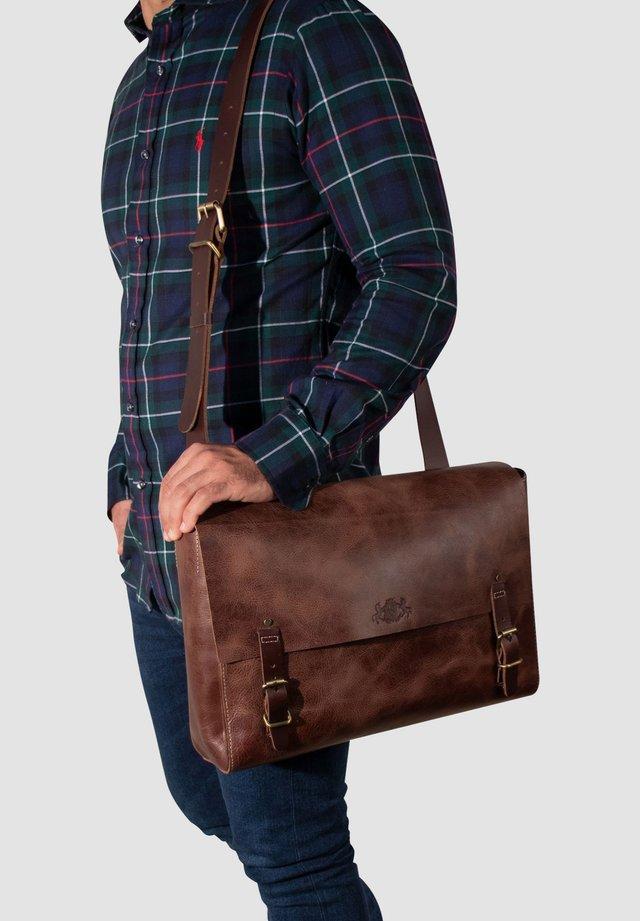 MESSENGER BAG - DUNCAN - Across body bag - braun-retro
