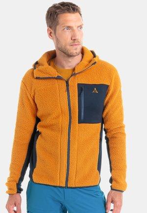 Fleece jacket - 5160 - goldfarben