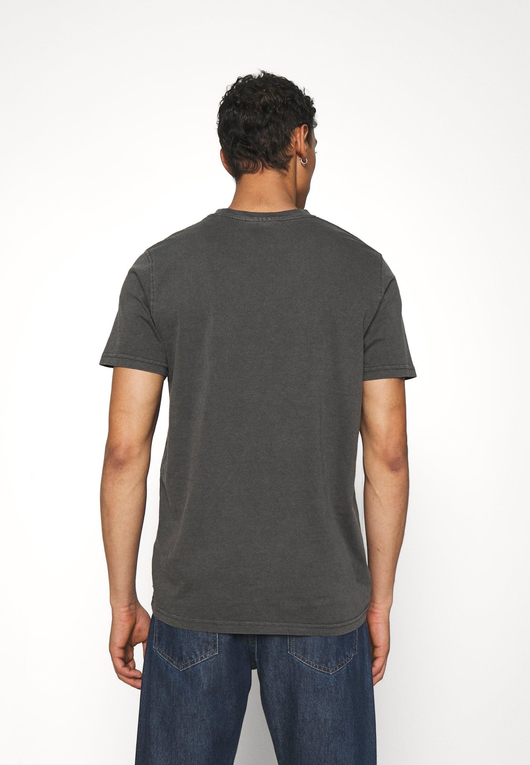 Uomo CASUAL TEE SHORT SLEEVE - T-shirt basic - dark grey