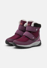 Jack Wolfskin - POLAR WOLF TEXAPORE MID VC UNISEX - Winter boots - purple/coral - 1