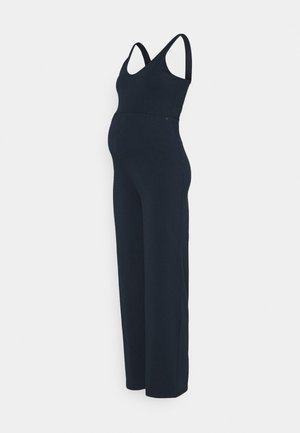 FLARED - Jumpsuit - navy