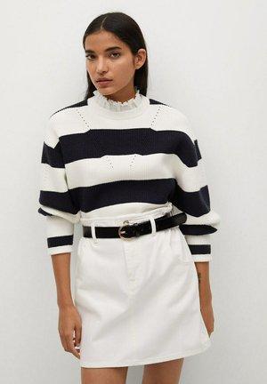 MATHILDA-L - A-line skirt - blanc