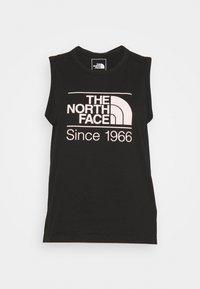 The North Face - W FOUNDATION GRAPHIC TANK - EU - Sports shirt - black - 3