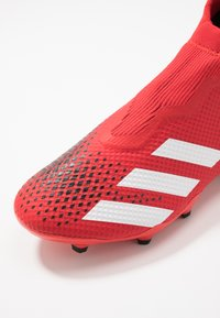 adidas Performance - PREDATOR 20.3 LL FG - Moulded stud football boots - active red/footwear white/core black - 5