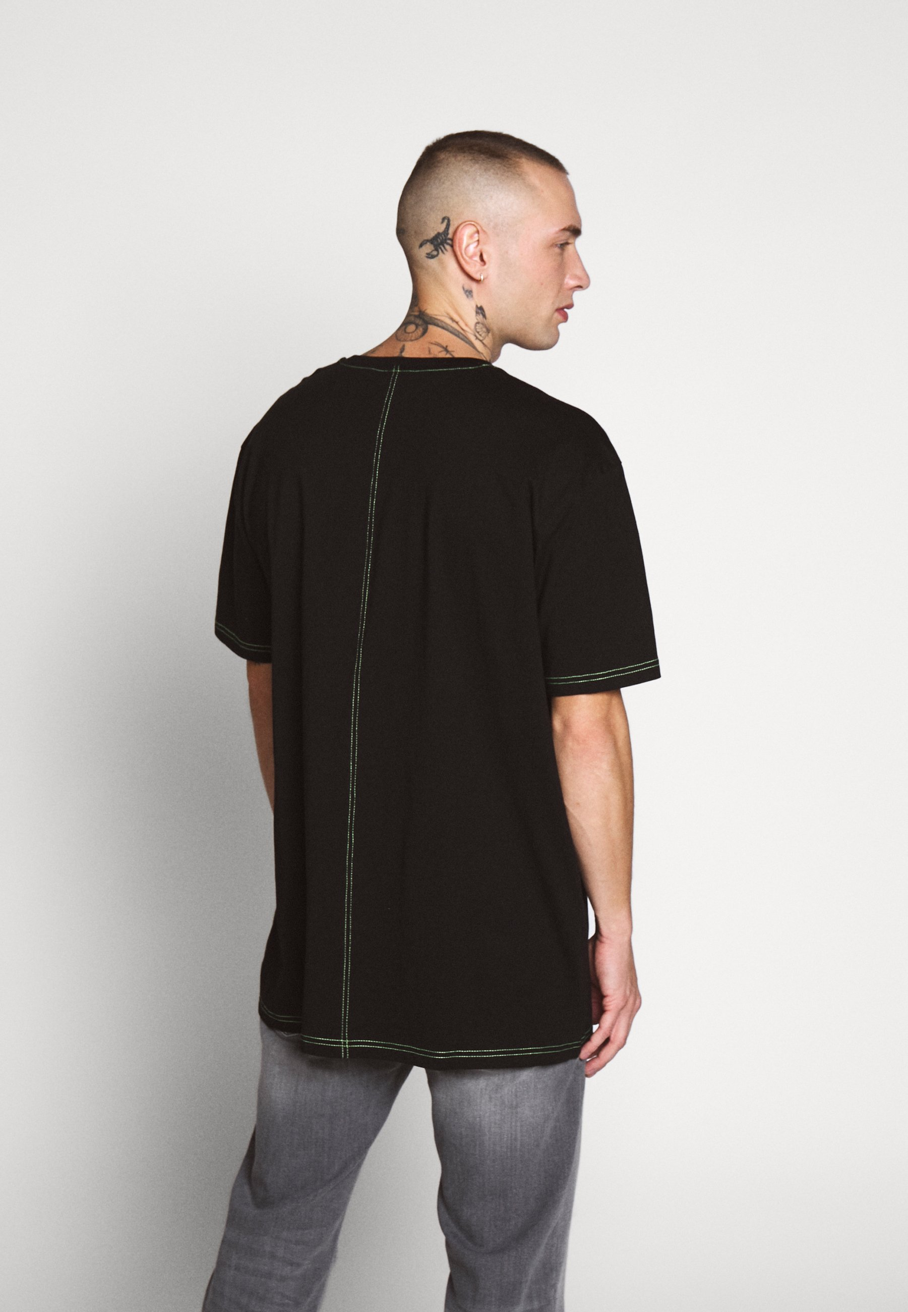 Urban Classics HEAVY OVERSIZED TEE T shirts black