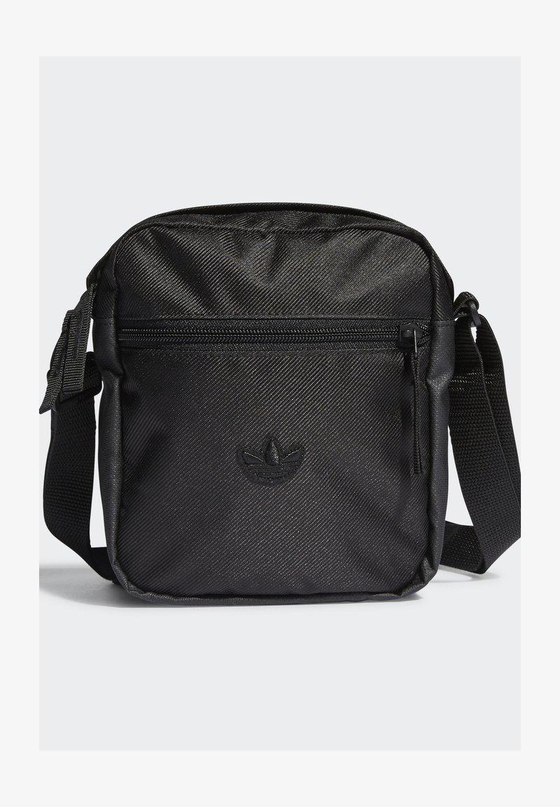 adidas Originals - FESTIVAL UNISEX - Taška spříčným popruhem - black