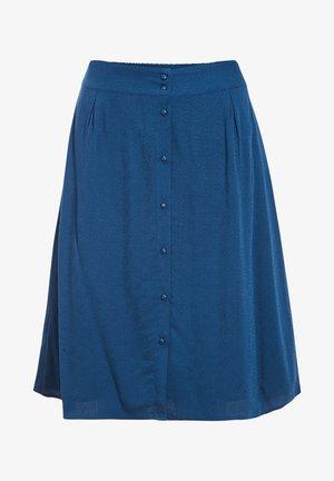 A-line skirt - bleu canard