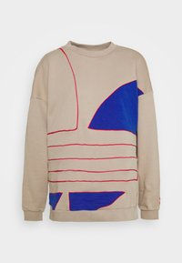 adidas Originals - BIG - Sweatshirt - trace khaki f17/team royal blue/power pink - 0