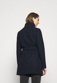 Vila - VICOOLEY NEW COAT - Zimní kabát - navy blazer - 2