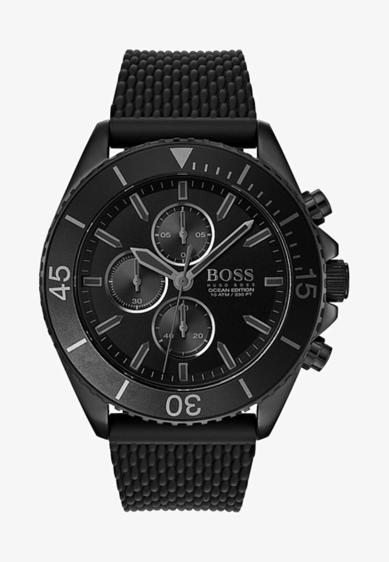 BOSS - Chronograph watch - black