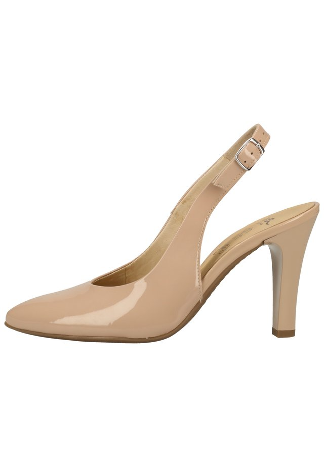 ARA PUMPS - Højhælede pumps - nude