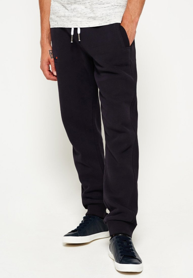 Superdry - ORANGE LABEL - Tracksuit bottoms - truest navy