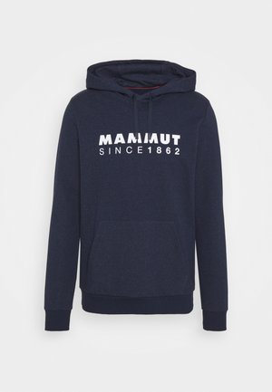 MAMMUT LOGO HOODY MEN - Hoodie - marine melange
