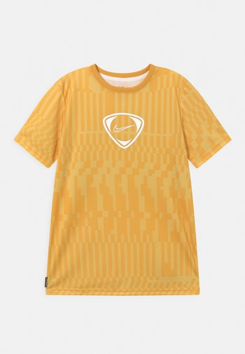 DRY UNISEX - T-shirt con stampa - saturn gold/white