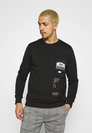 TECH - Sweatshirt - jet black