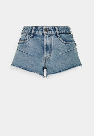 DE-RIMY SHORTS - Denim shorts - light blue