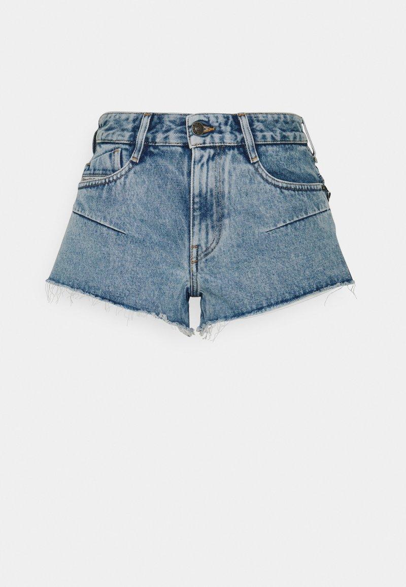 Diesel - DE-RIMY SHORTS - Denim shorts - light blue