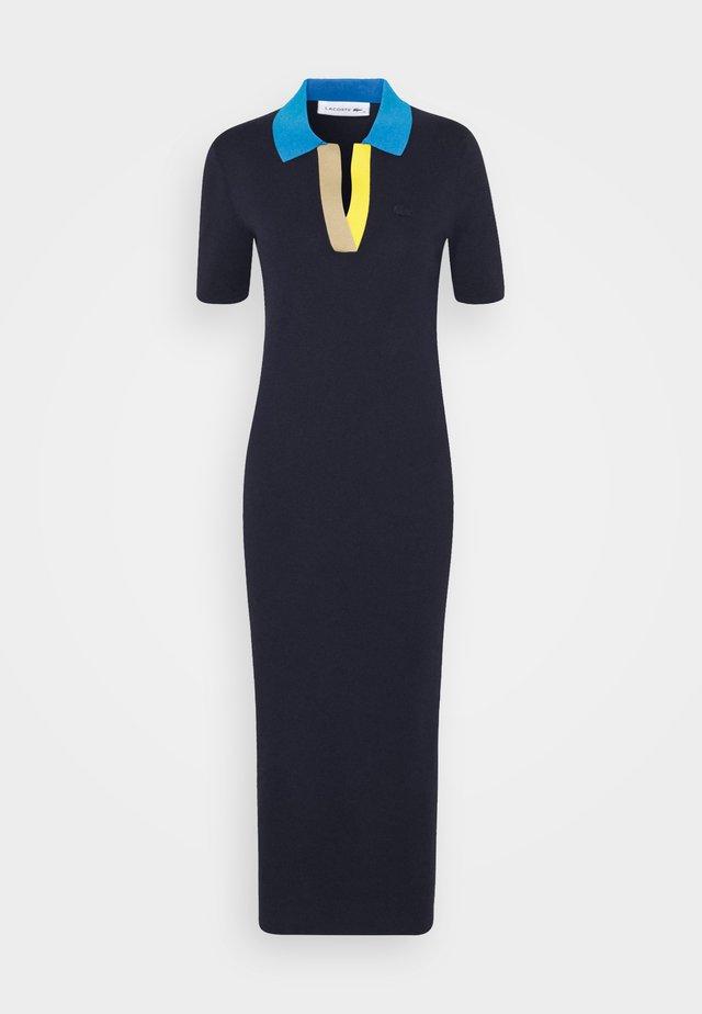 Maxi dress - navy blue/ibiza/wasp/viennese