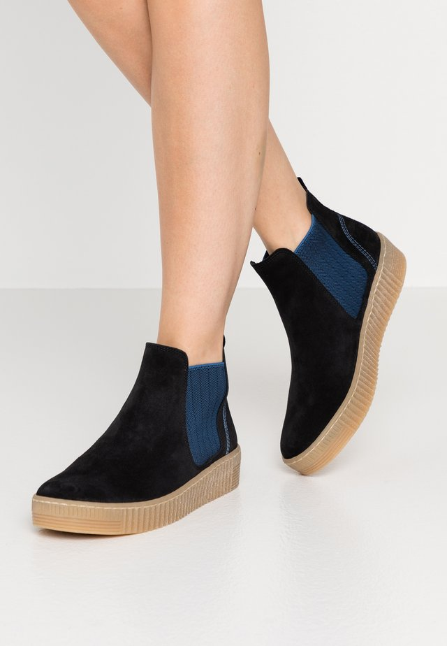 Ankle boot - pazifik/blau