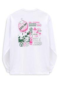 Vans - MN VANS SIGHTS LS - Long sleeved top - white - 1
