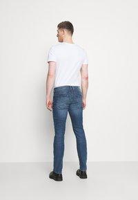 TOM TAILOR DENIM - SLIM PIERS BLUE STRETCH  - Slim fit jeans - used light stone blue denim - 2