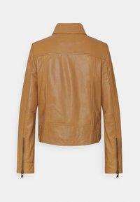 DRYKORN - PAISLY - Leather jacket - braun - 6