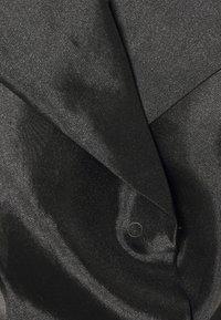 NA-KD - BALLOON SLEEVE BLOUSE - Bluser - black - 7